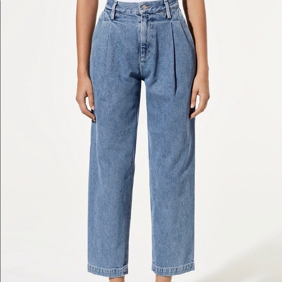 Citizens Of Humanity Denim - Citizens of Humanity Hailey Pleated Trouser Denim